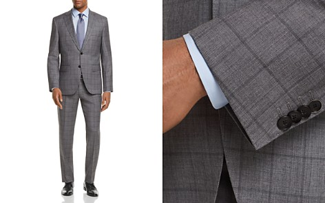 BOSS Johnstons/Lenon Regular Fit Windowpane Suit - Bloomingdale's_2