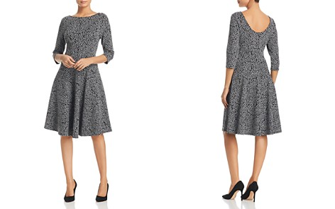 Leota Fit-and-Flare Printed Dress - Bloomingdale's_2