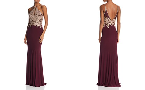 Avery G Embroidered Mermaid Gown - Bloomingdale's_2