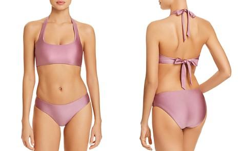 BECCA® by Rebecca Virtue Ballerina Halter Bikini Top & Ballerina Reversible Bikini Bottom - Bloomingdale's_2