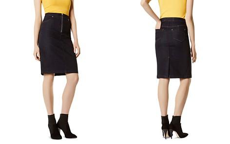 KAREN MILLEN Denim Pencil Skirt - Bloomingdale's_2