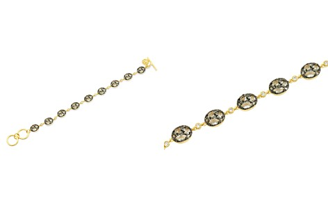 Freida Rothman Rose d'Or Pavé Cluster Toggle Bracelet - Bloomingdale's_2