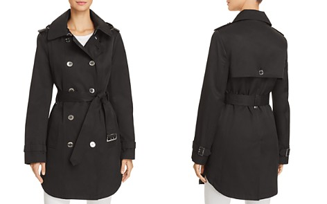 Calvin Klein Hooded Trench Coat - Bloomingdale's_2