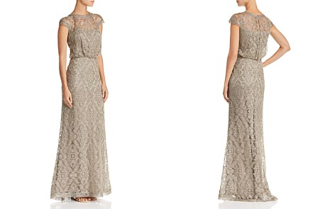 Tadashi Shoji Embroidered Blouson Gown - 100% Exclusive - Bloomingdale's_2