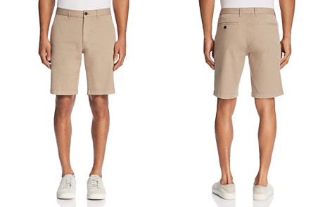 Theory Brewer Patton Regular Fit Shorts - 100% Exclusive - Bloomingdale's_2