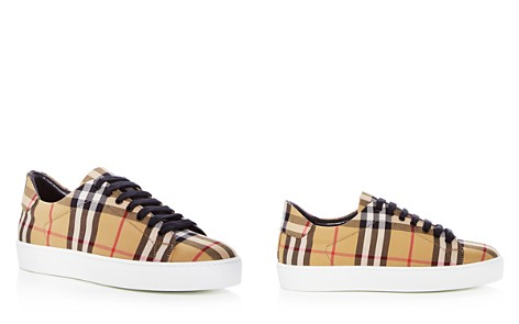 Burberry Women's Westford Vintage Check Lace Up Sneakers - Bloomingdale's_2