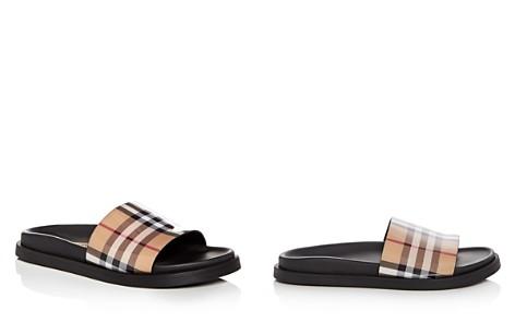 Burberry Women's Vintage Check Slide Sandals - Bloomingdale's_2