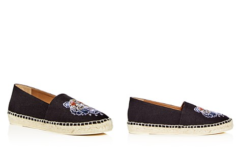 Kenzo Women's Special Tiger Embroidered Espadrille Flats - Bloomingdale's_2
