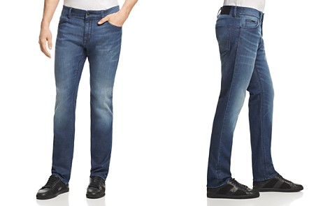 BOSS Maine Straight Fit Jeans in Mid Wash - Bloomingdale's_2