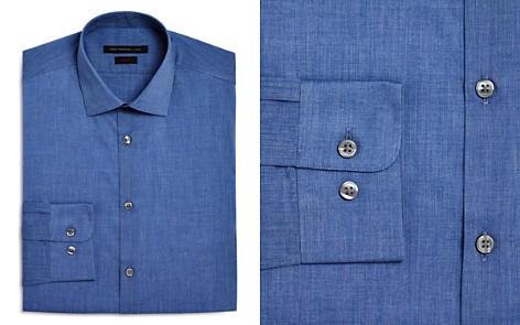 John Varvatos Star USA Chambray Solid Slim Fit Dress Shirt - Bloomingdale's_2