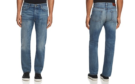 Burberry Selvedge Relaxed Fit Jeans in Blue - Bloomingdale's_2
