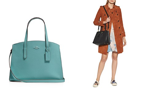 COACH Polished Pebble Leather Charlie Carryall - Bloomingdale's_2