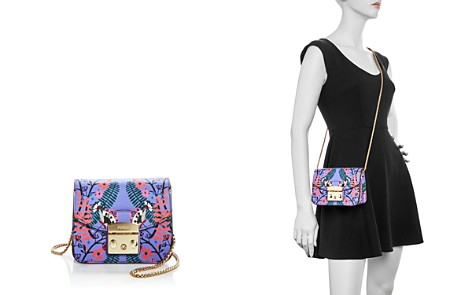 Furla Metropolis Mini Floral Print Leather Crossbody - Bloomingdale's_2