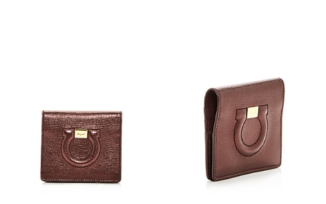 Salvatore Ferragamo Leather Card Case - Bloomingdale's_2
