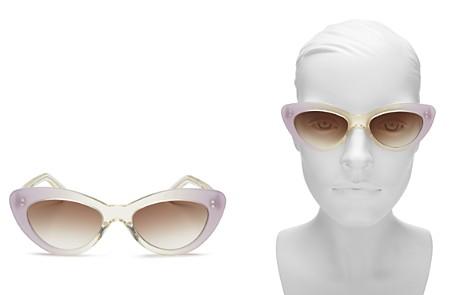 Illesteva Women's Pamela Cat Eye Sunglasses, 52mm - Bloomingdale's_2