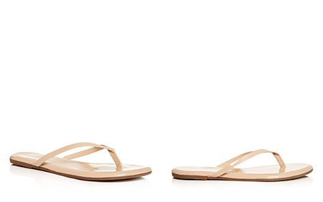 TKEES Women's Foundations Gloss Patent Leather Flip-Flops - Bloomingdale's_2