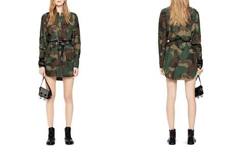 Zadig & Voltaire Rafal Camo Shirt Dress - Bloomingdale's_2