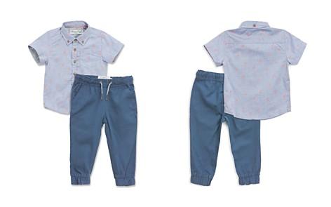 Sovereign Code Boys' Crystal Cove Flamingo-Print Shirt & Jogger Pants Set - Baby - Bloomingdale's_2