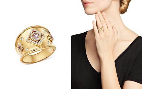 Kiki McDonough 18K Yellow Gold Jemima Amethyst & Diamond Ring - Bloomingdale's_2