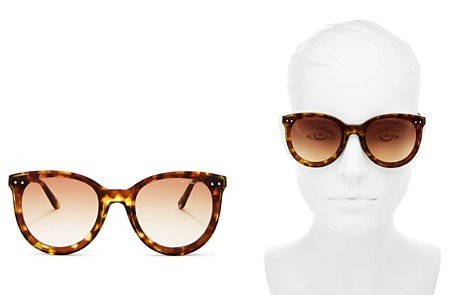 Bottega Veneta Round Sunglasses, 61mm - Bloomingdale's_2