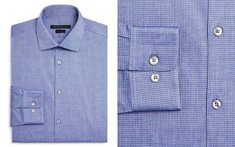 John Varvatos Star USA Micro Dash Slim Fit Dress Shirt - Bloomingdale's_2