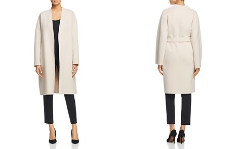 Weekend Max Mara Gimmy Belted Virgin Wool Doppio Coat - Bloomingdale's_2