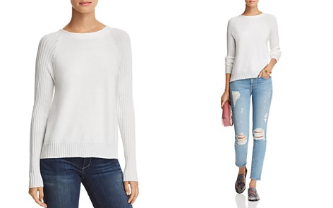 AQUA Lace-Up Sweater - 100% Exclusive - Bloomingdale's_2