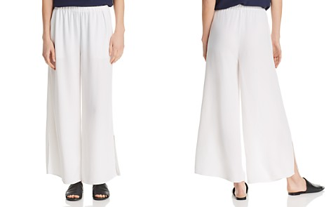 Eileen Fisher Petites Wide-Leg Ankle Pants - Bloomingdale's_2