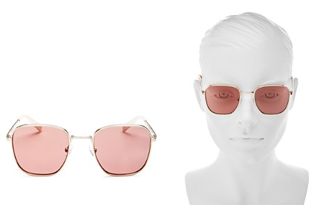 KENDALL and KYLIE Dana Square Sunglasses, 50mm - Bloomingdale's_2
