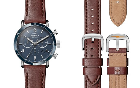 Shinola Canfield Brown Strap Sport Chronograph, 40mm - Bloomingdale's_2
