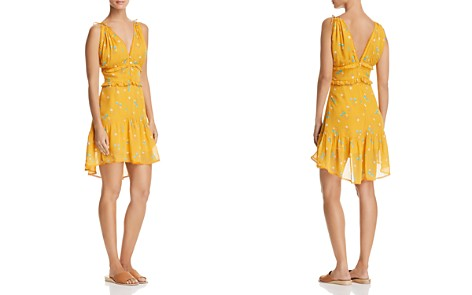 Karina Grimaldi Ana Ruffled Floral-Print Mini Dress - Bloomingdale's_2