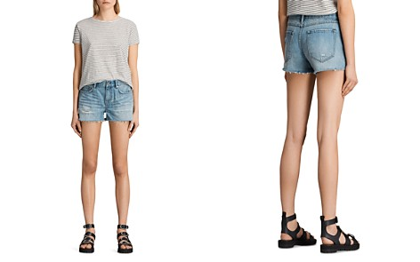ALLSAINTS Serene Denim Shorts - Bloomingdale's_2