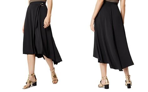 KAREN MILLEN High/Low Wrap Skirt - Bloomingdale's_2