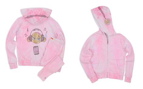 Butter Girls' Embellished Crackle Emoji Hoodie - Little Kid - Bloomingdale's_2