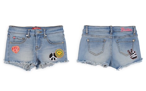 Butter Girls' Denim Shorts with Patches - Big Kid - Bloomingdale's_2