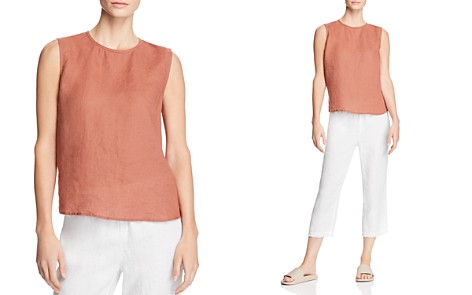 Eileen Fisher Organic Linen Tank - Bloomingdale's_2