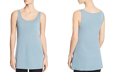Eileen Fisher Scoop-Neck Silk Tank - Bloomingdale's_2