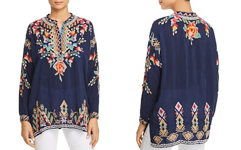 Johnny Was Jessa Embroidered Tunic - Bloomingdale's_2