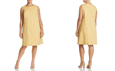 Lafayette 148 New York Plus Paxton Topstitched Dress - Bloomingdale's_2