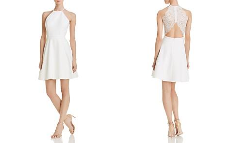 AQUA Lace-Back Scuba Dress - 100% Exclusive - Bloomingdale's_2