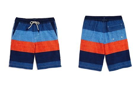 Johnnie-O Boys' Striped Shore Swim Trunks - Big Kid - Bloomingdale's_2