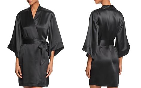 GINIA Silk Kimono Robe - Bloomingdale's_2