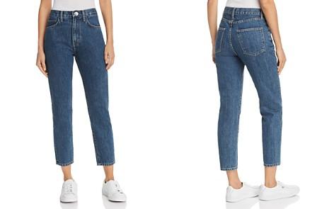 Current/Elliott The Vintage Cropped Straight-Leg Jeans in Rehan - Bloomingdale's_2