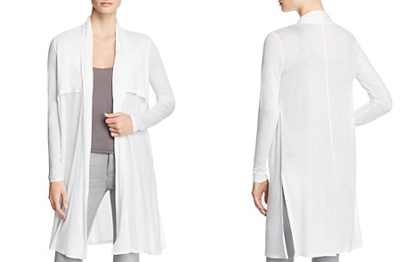 Three Dots Open Front Duster Cardigan - Bloomingdale's_2