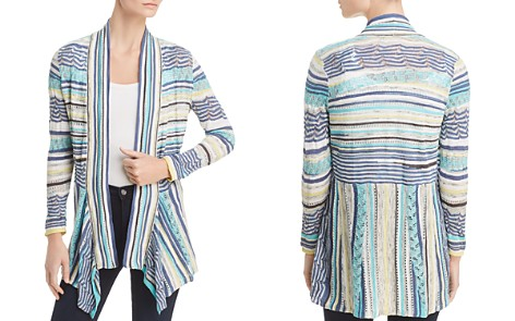 NIC+ZOE Good Vibe Striped Lace Cardigan - Bloomingdale's_2