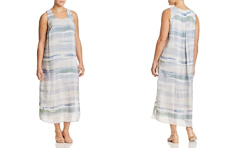 NIC+ZOE Plus Watercolor Stripe Maxi Dress - Bloomingdale's_2