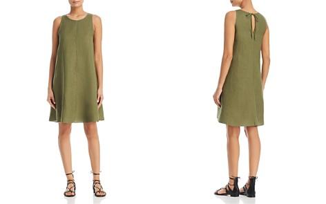 Three Dots Linen Shift Dress - Bloomingdale's_2
