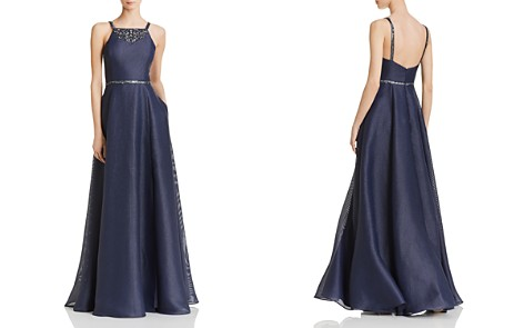 Aidan Mattox Embellished Shimmer Gown - Bloomingdale's_2