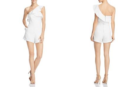 Bardot Ruffled One-Shoulder Romper - 100% Exclusive - Bloomingdale's_2