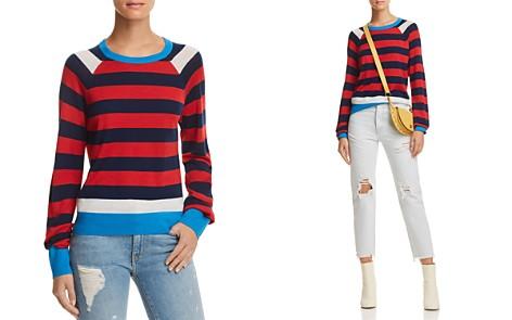 Equipment Axel Striped Wool & Silk Sweater - Bloomingdale's_2